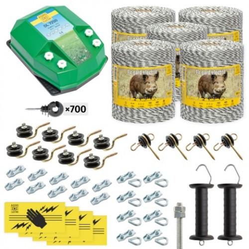 Пълен/професионален комплект електропастир – DL-7.2 J 5000 m с якост на опъна 130 kg