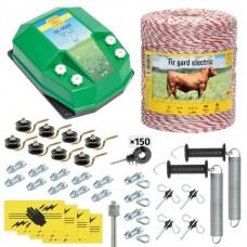 Пълен/професионален комплект електропастир за дом.животни - DL-4.5 J 1000 m с якост на опъна 95 kg