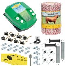 Пълен/професионален комплект електропастир за дом.животни - DL-3.2 J 500 m с якост на опъна 95 kg
