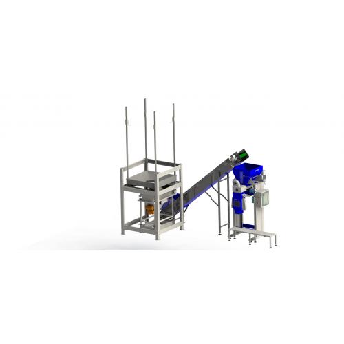 Полуавтоматична система за опаковане на гранулиран фураж SMARTWOOD PKG-1000
