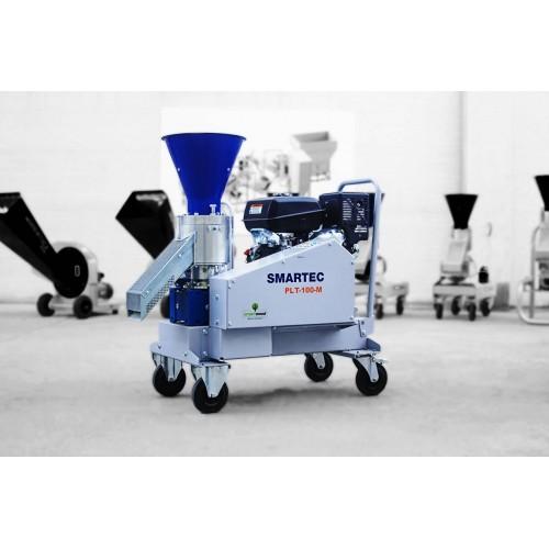 Пелет преса за фураж SMARTWOOD PLT-100 M, 40-70 kg/час, с бензинов двигател