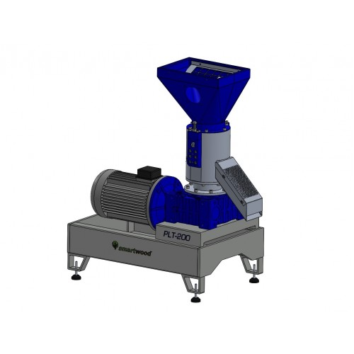 Пелет преса за фураж SMARTWOOD PLT-200, трифазна, 100-200 kg/час