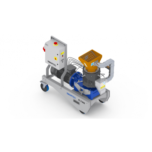 Пелет преса за фураж SMARTWOOD PLT-400, трифазна, 150-525 kg/час