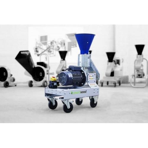 Пелет преса за фураж SMARTWOOD PLT-50, монофазна, 15-30 kg/час