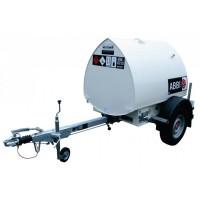 Ремарке с цистерна за дизелово гориво с колонка - 950L