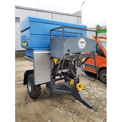 Тракторна торачка, 3000 литрова, 24 метрова, Bufer AKC / TPR30