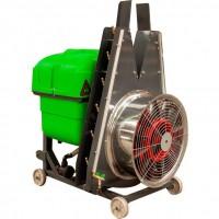 Преносима вентилаторна пръскачка с дефлектори, Bufer 400-600 литра