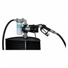Помпа за гориво PIUSI DRUM EX50 12V с K33 разходомер, кабел и ръчен пистолет