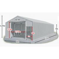 Мобилно хале с размери 6 x 12 x 3 m / 4.09 m - Euroagro