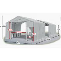 Мобилно хале с размери 6 x 16 x 3 m / 4.09 m - Euroagro