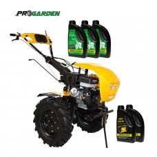 Комплект бензинова мотофреза ProGARDEN, 16 к.с., + моторно и трансмисионно масло