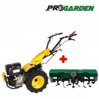 Комплект професионален многофункционален култиватор ProGARDEN BT 330/G190 + навесна фреза ProGARDEN BT-X90