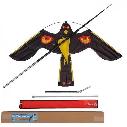 4 метрово телескопично хвърчило - плашило срещу птици