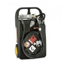 HD-PE Мобилен резервоар за бензин с колонка - електрически, 60L