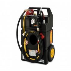 HD-PE Мобилен резервоар за бензин с колонка - електрически, 95L