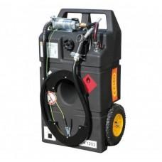 HD-PE Мобилен резервоар за бензин с колонка - ръчен, 95L