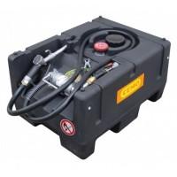 Мобилен резервоар за гориво с ръчна помпа CEMO KS-Mobil Easy 120L