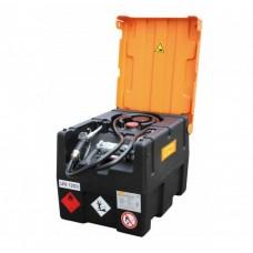 Мобилен резервоар за гориво с 12V електрическа помпа 40L/min, автоматичен пистолет и капак CEMO KS-Mobil Easy 120L
