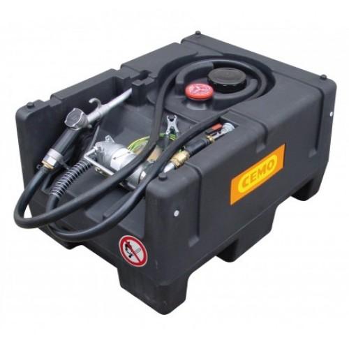 Мобилен резервоар за гориво с 12V електрическа помпа CEMO KS-Mobil Easy 120L, 40 L/min, ATEX и автоматичен пистолет