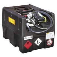 Мобилен резервоар за гориво с 12V електрическа помпа CEMO KS-Mobil Easy 190L, 40 L/min, ATEX и автоматичен пистолет