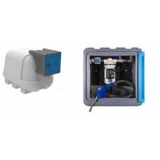 AdBlue резервоар с колонка и разходомер JFC - 1500l.