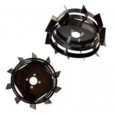 Комплект метални колела 4.00-10