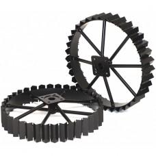 Комплект стоманени колела с размери 485x30x100mm ProGarden BT-2R