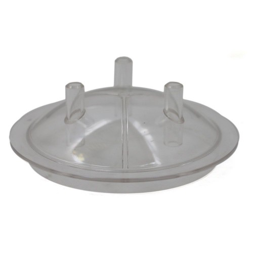 Прозрачен капак за гюм 40L на доилен агрегат с 3 изхода