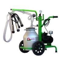 Агрегат за доене на крави  Gardelina 130 с алуминиев гюм 30L