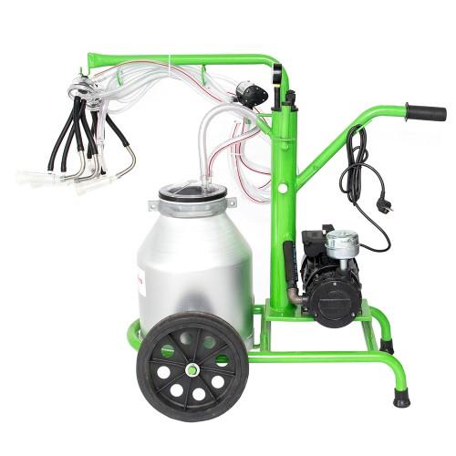 Доилен агрегат за кози и овце GREEN LINE 130 AL с алуминиев гюм 30L