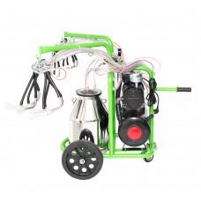 Aгрегат за доене на 2 бр. кози или овце с иноксов гюм 30L GREEN LINE T230 IN