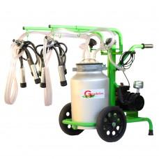 Доилен агрегат за крави Gardelina 240 AL IC 40L гюм оталуминий