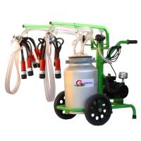 Агрегат за доене на крави  Gardelina 240 AL PC с гюм 40L алуминий