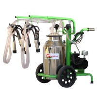 Доилен агрегат за крави Gardelina 240 IN IC с гюм 40L INOX