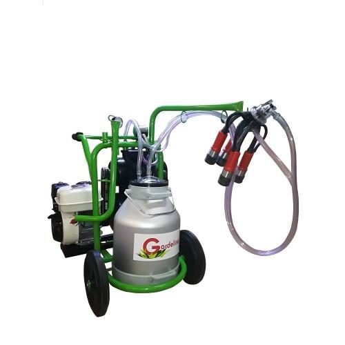 Бензинов доилен агрегат за крави Gardelina T130 с алуминиев гюм 30L