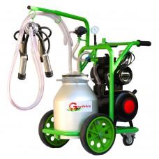 Агрегат за доене на крави Gardelina T130 с алуминиев гюм 30L