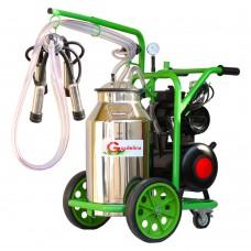 Агрегат за доене на крави Gardelina T140 с иноксов гюм 40L