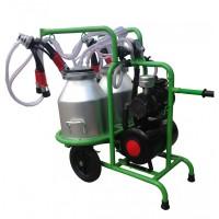 Aгрегат за доене на 2 крави с 2 алуминиеви гюма 30L Gardelina T230 AL