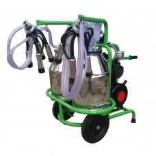 Агрегат за доене на 2 крави с 2 иноксови гюма 30L Gardelina T230 IN