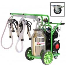 Aгрегат за доене на крави Gardelina T240 с иноксов гюм 40L