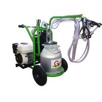 Бензинов агрегат за доене на овце и кози с алуминиев гюм 30L T130 AL