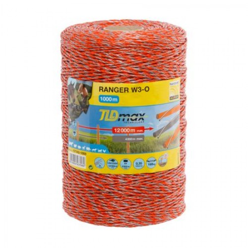 Електрическа оградна тел - 1000 m - 160 kg - 0.35 Ω / m