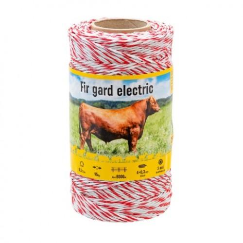 Електрическа оградна тел - 250 m - 95 kg - 0.5 Ω / m