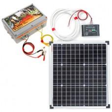Енергизатор за електропастир DL 4000 + слънчева система 30W