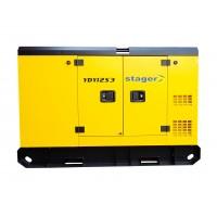 Трифазен дизелов генератор, звукоизолиращ - Stager YDY12S3 11kVA, 16A, 1500rpm