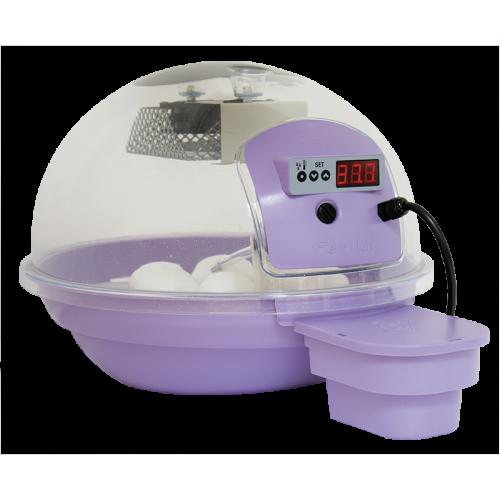 Smart инкубатор за яйца с дигитален дисплей, за до 24 кокоши яйца Smart - Лилав
