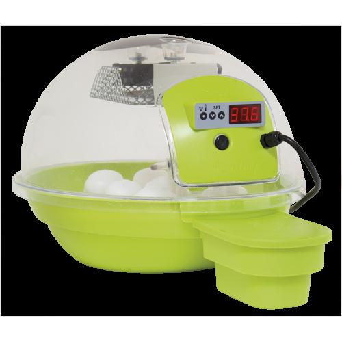 Smart електрически инкубатор за яйца с дигитален дисплей, за до 24 кокоши яйца Smart - Зелен