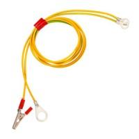 Комплект кабели за свързване (импулсен генератор - батерия) + заземяване