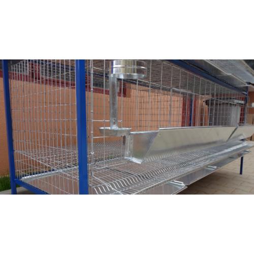 Клетка за кокошки носачки / 200x75x80 cm, за 20 броя - Euroagro