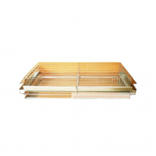 Клетка за пъдпъдъци / 120 cm - за 66 броя - Euroagro